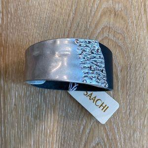 Saachi Wild Ways Leather Bracelet